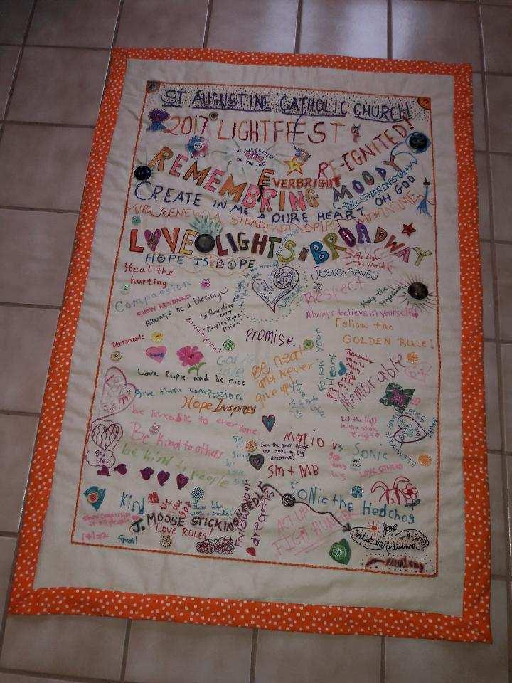 LightFEST 2017 Tapestry